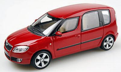 Abrex 4007B Skoda ROOMSTER Miniatures 1:43