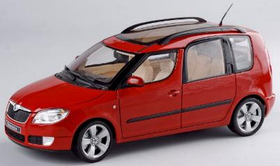Abrex 8007B Skoda ROOMSTER Miniatures 1:43