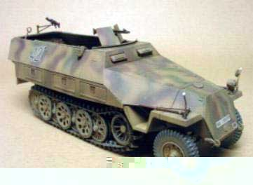 AFV 35063 SD KFZ 251D1 HALFTRACK ALL Maquettes 1:35