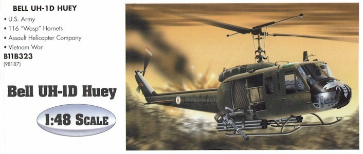 Armour B11B323 UH-1 HUEY WASP 98187 Die cast 1:48
