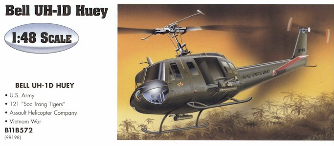 Armour B11B572 UH1 HUEY USAF 98198 Die cast 1:48