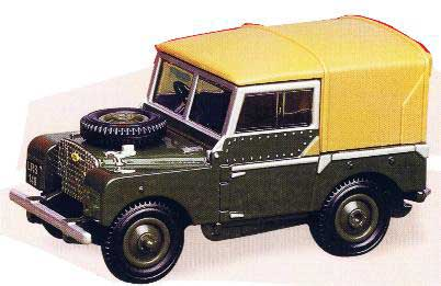 Britains 00174 Land Rover série 1 Miniatures 1:32