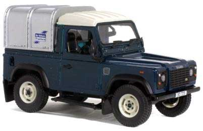 Britains 42101 Land Rover defender avec canopy Miniatures 1:32