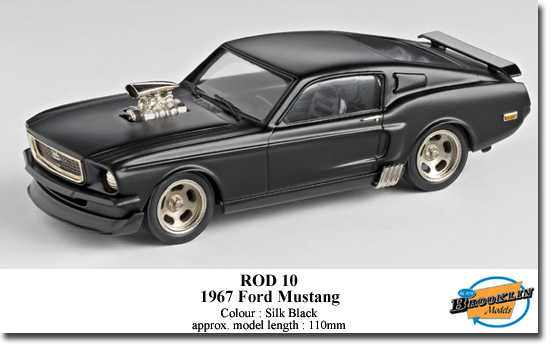 Brooklin KROD10 Ford MUSTANG 1967 Miniatures 1:43