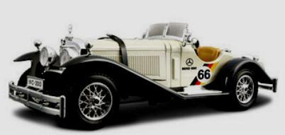 Burago 22021 mercedes benz ssk 1928 mercedes ssk 1 24 for Mercedes benz ssk 1928 burago
