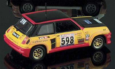 Eagle race 1706 Renault R5 TURBO TOUR ITALIE 1979 Miniatures 1:43