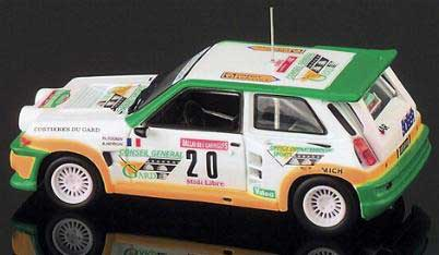 Eagle race 1755 Renault R5 TURBO CONSEIL GARD 1986 Miniatures 1:43