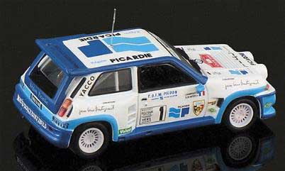 Eagle race 1757 Renault R5 TURBO PICARDIE 1986 Miniatures 1:43