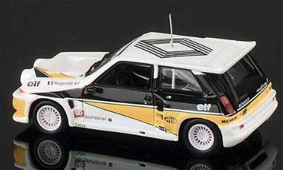 Eagle race 1759 Renault R5 MAXI TURBO PRESENTATION Miniatures 1:43