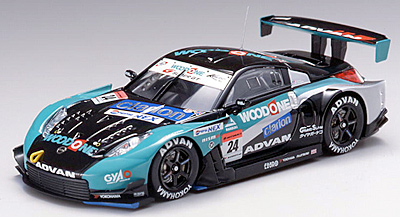 NISSAN Z SUPER GT 2006 WOODONE #24