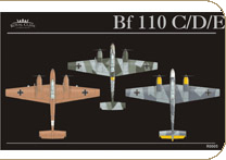 Eduard R0005X Bf 110 Royal Class-GERMANY EDITION  1/48 Plastic models 1:48