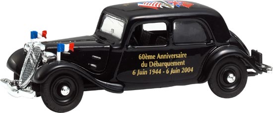 Eligor 100903 CITROEN TRACTION 6 JUIN 1960 Miniatures 1:43