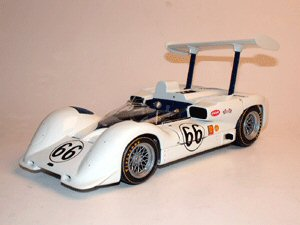 Exoto 18163 CHAPARRAL 2E #66 JIM HALL 1966 Miniatures 1:18
