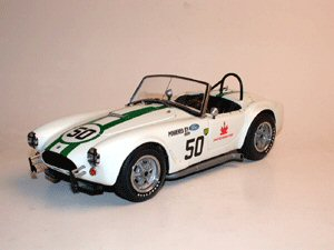 Exoto 19134 COBRA Racing #50 KEN MILES Die cast 1:18