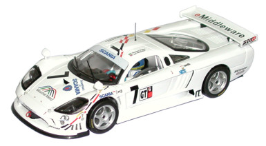 Fly car 88016 SALEEN S7R BRITISH 01 B Lancia A265 Miniatures