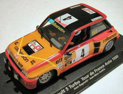 Fly car 88179 Renault R5 TURBO TdF AUTO 1980 A1204 Miniatures