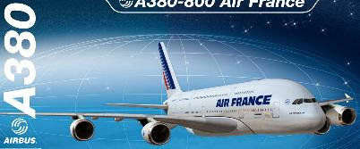 Heller 52908 Airbus A380 AIR FRANCE Maquettes 1:125