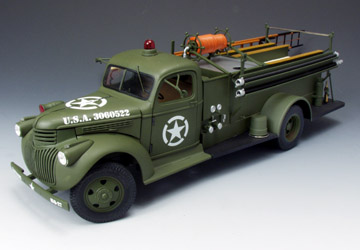 Highway 61 50187 CHEVROLET POMPIER US 1941 Miniatures 1:16