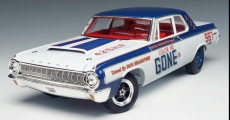 Highway 61 50299 Dodge 330 RACE 1964 Miniatures 1:18