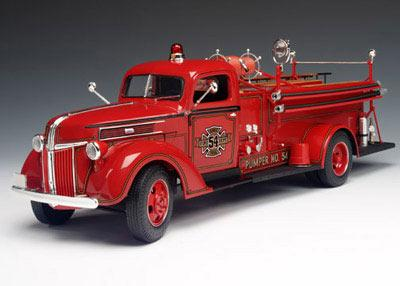 Highway 61 50322 Ford FIRE TRUCK 1941 Die cast 1:16