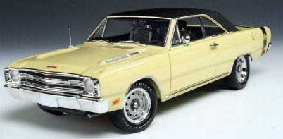 Highway 61 50428 Dodge DART 1969 Miniatures 1:18