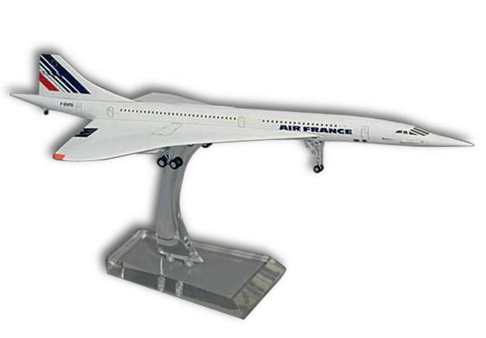 Hogan 8911 Concorde Air France F-BVFA (1976-2003) Miniatures 1:200