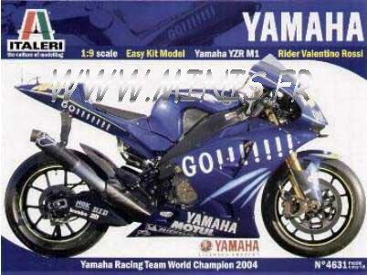 ROSSI World Champion 2004 MIB Protar Italeri 1:22 Moto GP YAMAHA YZR M1 V