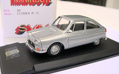 Mini-route 040 CITROEN M 35 Miniatures 1:43