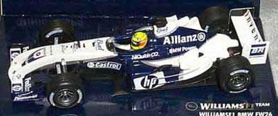 New Ray 00923 F1 WILLIAMS BMW F16 SONORE Miniatures 1:24