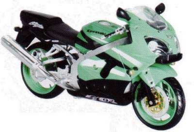 New Ray 53285 KAWASAKI ZX 9R KIT Miniatures 1:12