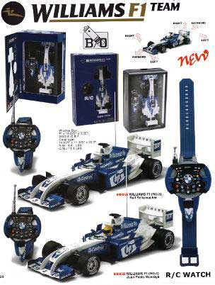 New Ray 89806 WILLIAMS BMW F1 RADIO GUIDEE Miniatures 1:24
