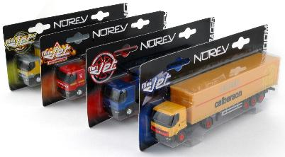 Norev 311670 Assortiment 18 PiecesS MINI JET TRANSP Miniatures