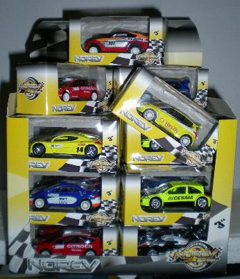 Norev 319100 Coffret street racer 3 inches Miniatures
