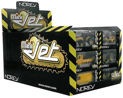 Norev 319213 COFFRET 42 Pieces MINI JET CONSTRUCTION Miniatures