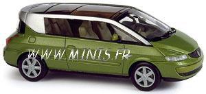 norev 518203 renault avantime renault avantime vert 1 43 miniatures maquettes. Black Bedroom Furniture Sets. Home Design Ideas