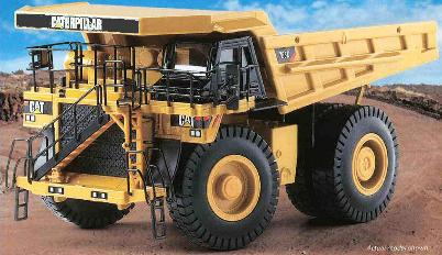 Norscot 55216 Caterpillar 785D Miniatures 1:50
