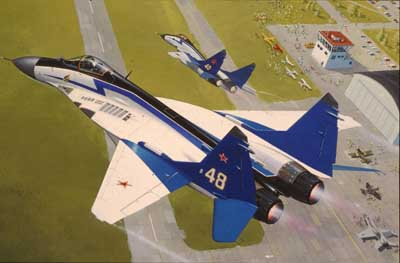 Revell 04007 MIG 29 THE SWIFTS Maquettes 1:144