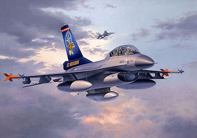 Revell 04355 LOCKHEED F16B TWIN SEATER1 Maquettes 1:72