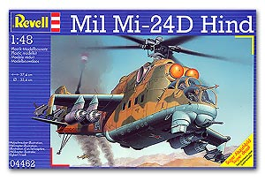 Revell 04462 MIL 24 HIND GUNSHIP Maquettes 1:48
