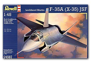 Revell 04587 LOCKHEED X-35 (F-35)JSF Maquettes 1:48