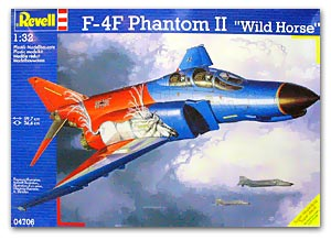Revell 04706 F 4F PHANTOM WILD HORSE Maquettes 1:32