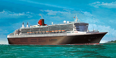 Revell 05223 QUEEN MARY 2 Maquettes 1:400