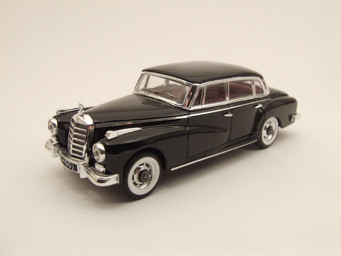 Mercedes Konrad Adenauer 1951 Grey 1:43 Model RIO40901 RIO