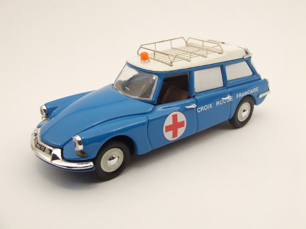 Citroen ID 19 ambulance 1958