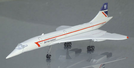 Schabak 1029-14 SCHABAK 1/250 CONCORDE BRITISH Airways Miniatures 1:250