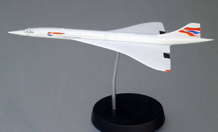 Schabak 1029-14UK SCHABAK 1/250 CONCORDE B.A. United Kingdom Miniatures 1:250