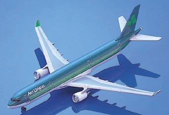 Schabak 856-97 Airbus A330/300AER LINGUS Miniatures 1:250