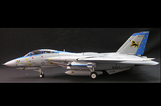 Schuco 3555018 F-14 VF 213 BLACK LIONS (SKY GUARDIANS) Miniatures 1:72