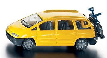 siku 1328 voiture et porte velo model car 1 55 die cast. Black Bedroom Furniture Sets. Home Design Ideas