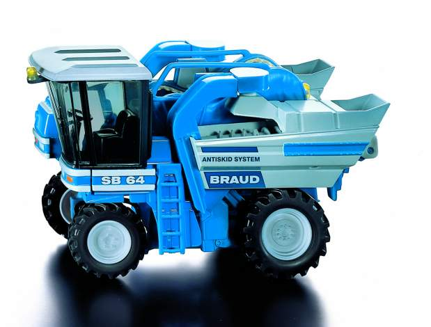 Siku 3458 Brand SB machine a vendanger Miniatures 1:32